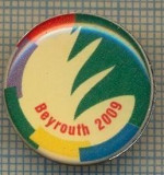 1114 INSIGNA - BEYROUTH 2009 -JOCURILE FRANCOFONIEI - LIBAN -starea ce se vede.