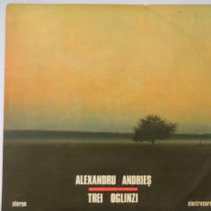 Disc vinil ALEXANDRU ANDRIES TREI OGLINZI 1988 - Muzica Folk