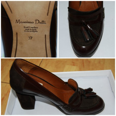 Pantofi dama Massimo Dutti