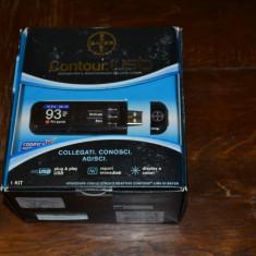 Kit Glucometru Countour USB de la Bayer. Aparat monitorizare glicemie (preţ în scădere*)