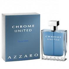 Azzaro Chrome United EDT 100 ml pentru barbati - Parfum barbati Azzaro, Apa de toaleta