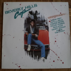 Beverly Hills Cop Music Motion Picture Soundtrack disc vinyl lp muzica pop rock, VINIL