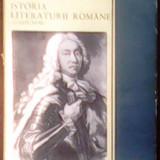 ISTORIA LITERATURII ROMANE. COMPENDIU.
