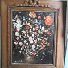 Ulei pe panza - Reproducere, Flori