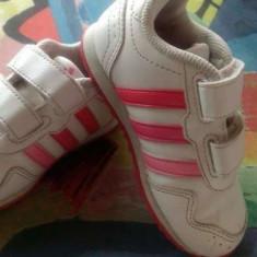Adidasi copii oferta, Marime: 23, Culoare: Alb, Unisex, Alb