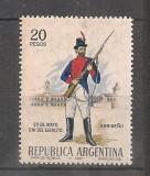Argentina.1967 Ziua Armatei-Uniforme militare  EB.325
