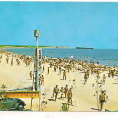 #carte postala(ilustrata)-COSTINESTI-plaja
