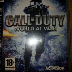 Call of Duty:World at War PS3 - Jocuri PS3 Activision, Shooting, 18+, Multiplayer