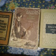 3 carti vechi in germana scrise. - Carte veche
