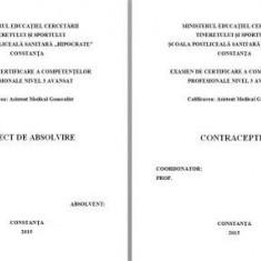 LUCRARE DE LICENTA A.M.F. - CONTRACEPTIA ( CU PREZENTARE POWER POINT) - Carte Chirurgie