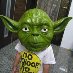 Masca Star Wars Master Yoda Halloween cosplay starwars razboiul stelelor +CADOU!, Marime universala, Din imagine