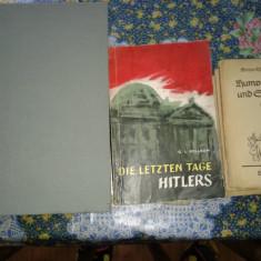 2 carti vechi, si alte 3 mai mici. - Carte veche