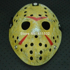 Masca hockey Jason Voorhees Freddy Krueger Halloween costum party cosplay +CADOU - Masca carnaval, Marime: Marime universala, Culoare: Din imagine