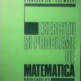EXERCITII SI PROBLEME DE MATEMATICA PENTRU CLASELE IX-X, Alta editura