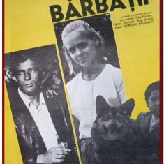 Barbatii - Afis Romaniafilm film sovietic din Armenia 1973, afise filme Epoca de Aur, cinema, filmele copilariei
