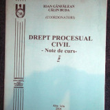 Ioan Ganfalean, Calin Buda, Drept procesual civil - Carte Drept procesual civil