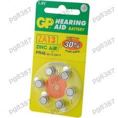 Baterie AC13, R754, zinc-aer (ZnO2), 1,4V, GP, pentru aparate auditive-050420