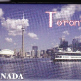 Magnet frigider Toronto, Canada, tip foto, 9x6.5 cm
