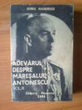 d4 George Magherescu - Adevarul despre Maresalul Antonescu Volumul 3