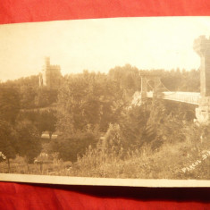 Ilustrata Craiova - Parcul Bibescu 1924