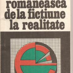 (C5080) ECONOMIA ROMANEASCA DE LA FICTIUNE LA REALITATE DE N.S. STANESCU, EDITURA HUMANITAS, 1991