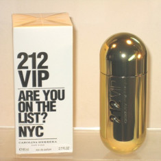 Carolina Herrera 212 VIP EDP Made In Spain dama - Parfum femeie Carolina Herrera, Apa de parfum, 100 ml