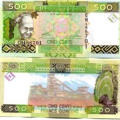 GUINEA 500 francs 2006 - UNC