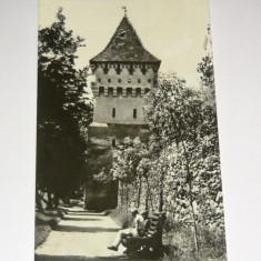 Carte postala/ilustrata - ARTA - ARHITECTURA - Sibiu - Turnul Olarilor - circulata 1969 - 2+1 gratis toate produsele la pret fix - RBK6249 - Carte Postala Transilvania dupa 1918, Fotografie