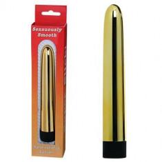 Atingere Senzuala vibrator auriu, 16cm