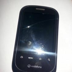 Vodafone 858 android smartphone - Telefon mobil Vodafone, Negru, <1GB, Single SIM, Single core