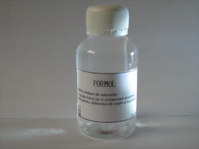 FORMOL  FORMALDEHIDA  ideal pentru sinteze de laborator si conservant anatomic foto