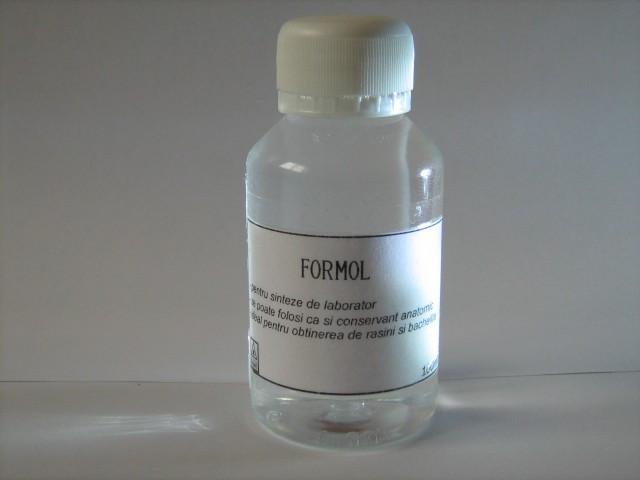 FORMOL  FORMALDEHIDA  ideal pentru sinteze de laborator si conservant anatomic