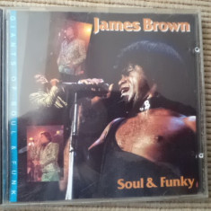 James Brown soul and Funky cd disc giants of soul and funk music muzica rock