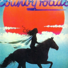 -Y- COUNTRY ROADS - THE GEOFF LOVE / COUNTRY SINGERS- CA NOU ! DISC VINIL LP - Muzica Country electrecord