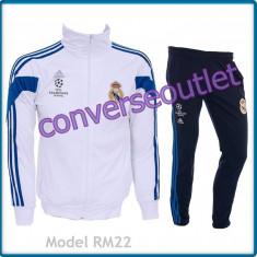 Trening ADIDAS REAL MADRID - Bluza si pantaloni conici - Modele noi Pret Special - Trening barbati, Marime: S, M, L, Culoare: Din imagine