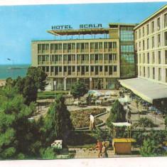 #carte postala(ilustrata)-MANGALIA -Hotel Scala
