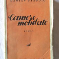 """Carte veche: """"CAMERE MOBILATE. Roman"""", Damian Stanoiu, 1933. Prima editie, Adevarul"""