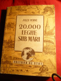 Jules Verne - 20 000 leghe sub mari - Ed. Stat 1948 ,cu ilustratii