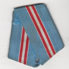Bnk md URSS - A 50-a aniversare a revolutiei 1918-1968 - panglica originala - Ordin