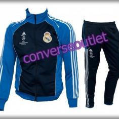 Trening ADIDAS REAL MADRID - Bluza si pantaloni conici - Modele noi Pret Special - Trening barbati, Marime: M, L, Culoare: Din imagine