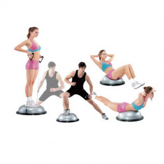 Minge Bosu rotunda cu extensor - Minge Fitness