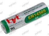 Baterie AA, R6, ER14505, litiu, 3,6V, 2400mAh, Eve Battery Co - 050437