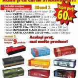 BLEND 1 - Tuburi tigari pentru tutun, 1500 buc diverse modele + aparat injectat - Foite tigari