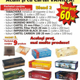 BLEND 2 - 1.500 Tuburi tigari pentru injectat tutun, diverse modele, tabachera - Foite tigari