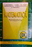 MATEMATICA MANUAL PENTRU CLASA A IX-A - C. Nastasescu, C. Nita, Gh. Andrei, Clasa 9, Didactica si Pedagogica