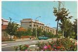 #carte postala(ilustrata)-RAMNICU VALCEA-cartierul Traian