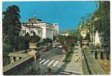 #carte postala(marca fixa)-RAMNICU VALCEA-Casa de cultura
