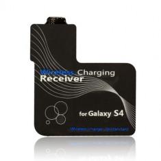 Receiver pentru incarcator wireless de birou Qi Samsung Galaxy S4 i9500 i9505 - Incarcator telefon Samsung