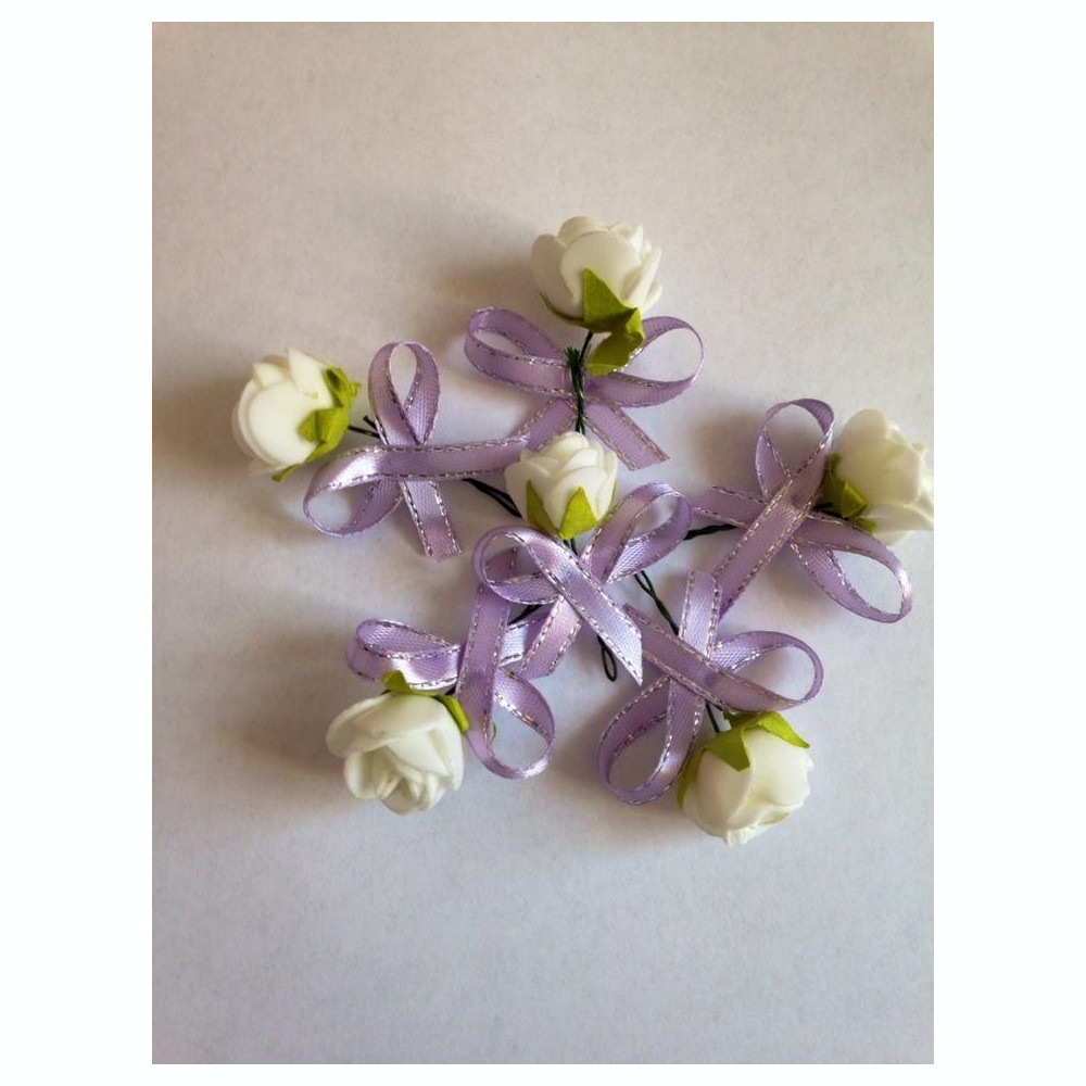 Cocarede Flori De Pus In Piept Nunta Arhiva Okaziiro