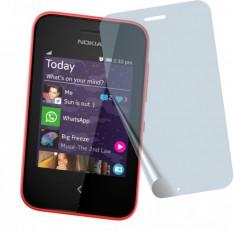 Folie Nokia Asha 230 Transparenta - Folie de protectie Nokia, Lucioasa